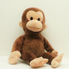"Curious George Plush Doll Kohl's Original Applause Russ 16"" Stuffed Monkey"