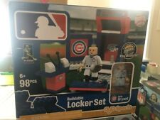 KRIS BRYANT LOCKER SET OYO SPORTS BUILDABLE LEGO 98pcs CHICAGO CUBS