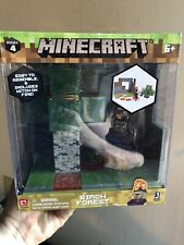 Minecraft Birch Forest Biome Playset New In Box