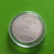 pièce en argent de 12€ Espagne - 2007
