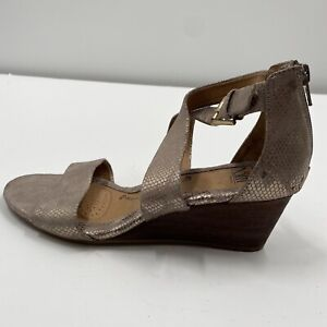 Sofft Womens Mauldin Open Toe Casual Ankle Strap Sandals, Bistro Taupe, Size 8