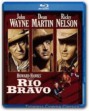 Rio Bravo Blu-ray New John Wayne Dean Martin Ricky Nelson Angie Dickinson