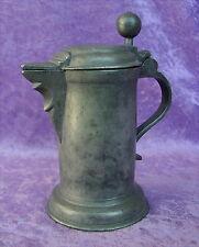 Original alter kleiner Zinnkrug er ist von 1726