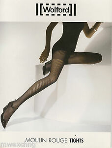 WOLFORD MOULIN ROUGE TIGHTS LARGE ANTHRACITE