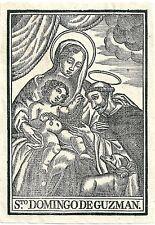 1750ca SAN DOMINGO GUZMAN Domenico santino ordine frati domenicani predicatori