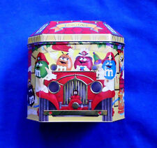M&M's 1997 Firehouse Christmas candy tin #6 in series LE