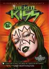 Wicked Kiss T-Shirt Airbrush DVD with Gary Worthington, Createx Wicked Colors