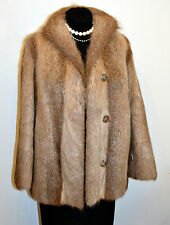 pre-owned GENUINE NUTRIA FUR Jacket, M