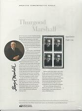 # 3746 THURGOOD MARSHALL, CIVIL RIGHTS LAWYER. 2003 Commemorative Panel