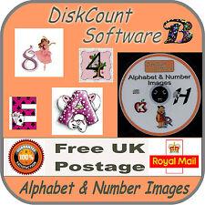 A massive 12,500+ Alphabet & Number images Art & Craft / Card etc