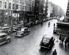 1948 HANOVER STREET LOOKING NORTH FROM CROSS STREET CITY OF BOSTON 8X10 PHOTO