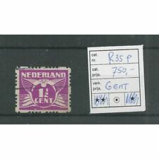 "Nederland R35P met ""Gent ipv Cent"" VFU/gebr  CV 750 €"