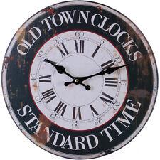 Reloj De Pared estilo Rústico Shabby Chic Cocina Casco Antiguo-Nuevo