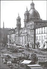ROMA - PIAZZA NAVONA CON LA CHIESA DI SANT'AGNESE 1864 - Ed. INTRA MOENIA - 2005