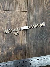 Ladies Rolex Gold + Steel 62523 D-14 Jubilee Bracelet With 13mm 468 End Pieces