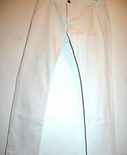 Xagon Man White Men's Designer Cotton Pants Jeans Italy Sz US 38 EU 54 NEW