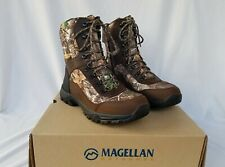 New Men's Magellan Reload Hiker 2.0 Hunting Boots Brown and Realtree Edge
