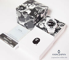 G-SHOCK BAPE A BATHING APE collaboration 2 TONE GD-100 2015 White Japan Watch