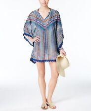 NWT Jessica Simpson Swimsuit Bikini Cover Up Tunic Dress sz M Peri Multi