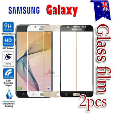 2X Samsung Galaxy A5 J2 J5 J7 Pro Full Coverage Tempered Glass Screen Protector