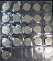 Canada 1968 - 1986 Set of Dollars 21 Different Coins Collection Lot