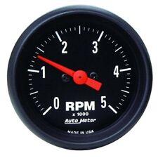 AutoMeter 2697 Z-Series Air-Core In-Dash Tach, 5k RPM,2-1/16 Inch