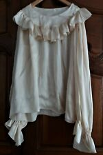 Superb Blouse Bodice For Woman Silk Champagne Years 50