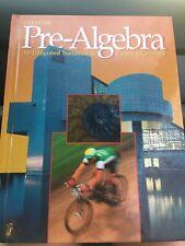 Glencoe Pre-Algebra Grade 7, 8 textbook middle school math W/Answers
