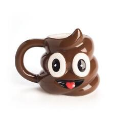 44847 SMILING POO FACE EMOJI MINI MUG CERAMIC POOP SH*T CRAP NOVELTY GIFT IDEA