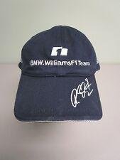 BMW WILLIAMS F1 TEAM RACING HAT BALL CAP #5 NAVY BLUE REUTERS MENS ONE SIZE EUC