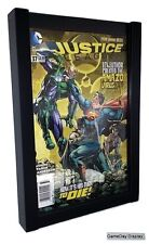 Comic Book Display Frame Case Shadow Box Black Magazine A