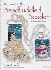 SALE - Patterns for the Beadfuddled Beader 3 - beading pattern book