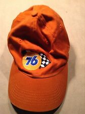 76 Racing Gasoline Guam Orange Hat One Size Auto Race