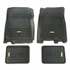 Fits Ford F150 2001-2003Black  Floor Liners Front and Rear  398298724