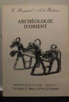Catalogue Di Vendita 1979 Drouot Rive Gauche Sala N°3 Archeologia Orientale