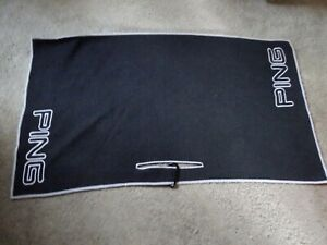 Ping Tie Golf Towel In Excellent Condition