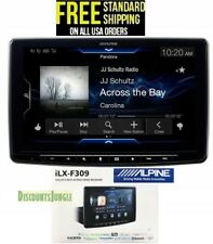 "New listing Alpine iLx-F309, Halo9 9"" Digital Media Car Stereo CarPlay Android Auto-Free Cam"