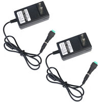 2X 12V 3A 36W AC/DC Adapter Charger Power Supply for CCTV DVR Camera/ LED light