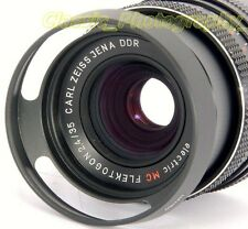 ZEISS Flektogon 2.4/35mm PANCOLAR Oreston 1.8/50 fit 49mm Metal Vented Lens Hood