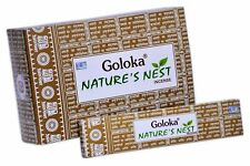 Goloka Nature's Nest Incense Sticks-15grams(12packs)