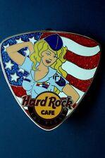 HRC hard rock cafe las vegas Guitar pick patriota Girl 2009 le300