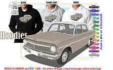 63-65 EH HOLDEN PREMIER HOODIE ILLUSTRATED CLASSIC RETRO MUSCLE SPORTS CAR