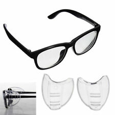 2PCS Universal Flexible Side Shields Safety Glasses Goggles Eye Protection