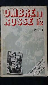 Ombre Rosse 11-12 Speciale su condizione giovanile Fotografie  Parco Lambro 1975