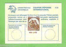 #D199.  ITALY  400  LIRE  INTERNATIONAL  RESPONSE COUPON