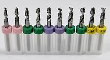 10 Piece Variety Carbide Drill Bit Set -R4 -