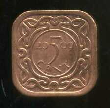SURINAME  5 cent 2009