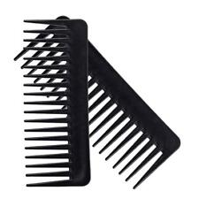 Salon Hairdressing Shower Wide Tooth Detangler Massage Hair Brush Comb