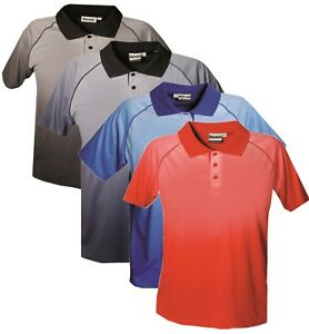 New Mens Polo Shirts Short Sleeve TShirt Sports Top Gym Tee T-Shirt Wicking 5XL