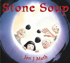 Stone Soup by Jon J. Muth (2003, Hardcover)